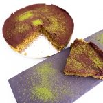 pastel de chocolate y matcha vegano marta atram
